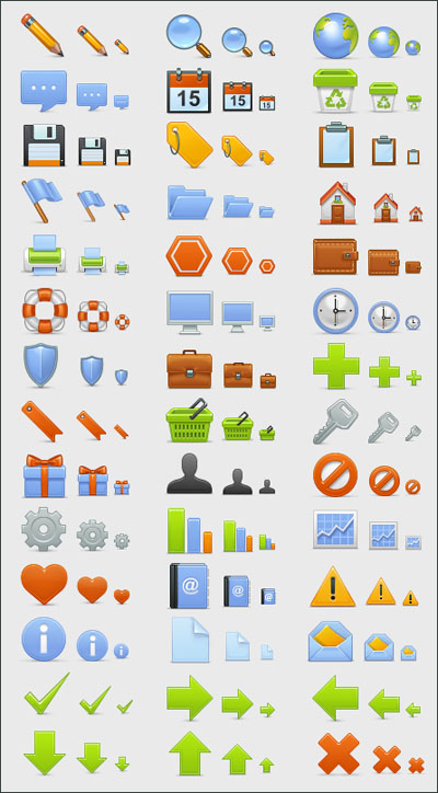 Basic Icons Set