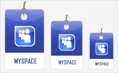 Myspace Social Bookmarking Icons