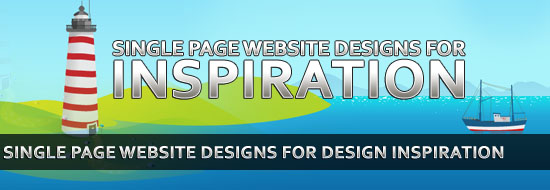 100 Single Page Website Designs for Design Inspiration