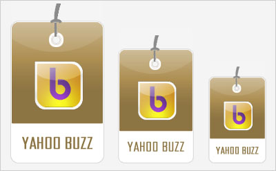 Yahoo Buzz Social Bookmarking Icons