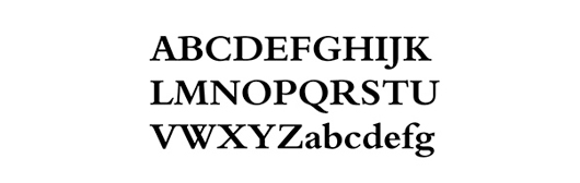 bergamo std bold - 70 Remarkable High Quality Free Fonts for Graphic Designers
