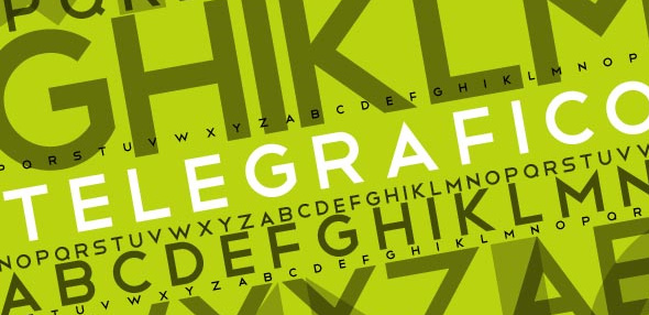 20 Beautiful Fonts for Big and Effective Headlines - Telegrafico