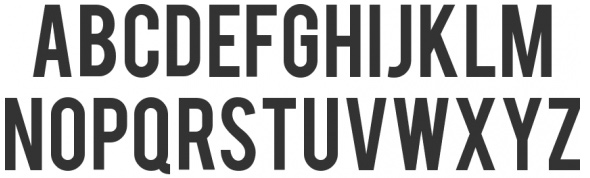 20 Beautiful Fonts for Big and Effective Headlines - Bebas