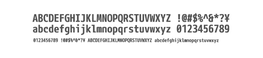 mplusfonts - 70 Remarkable High Quality Free Fonts for Graphic Designers