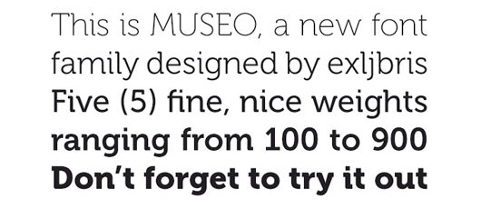 museo - 70 Remarkable High Quality Free Fonts for Graphic Designers