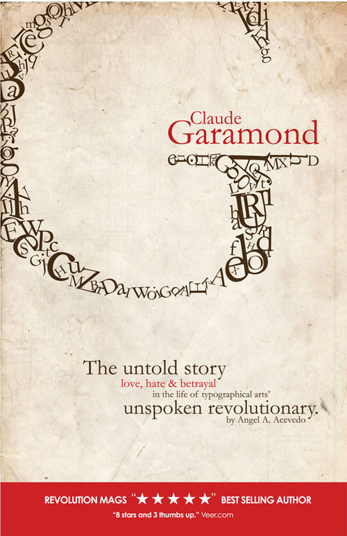 Claude Garamond Ready For Print Typography Poster