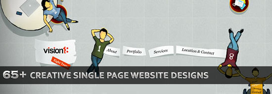 Post image of 65+ Creative Single Page Website Designs for Inspiration