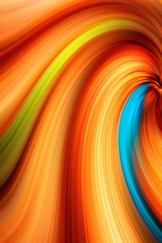 Color Whorl iPhone Wallpaper