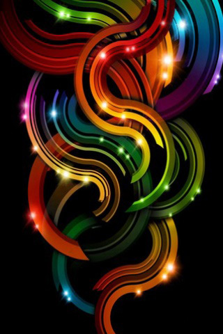 Color Curves iPhone Wallpaper