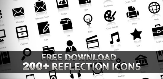 "Download 200+ Free Exclusive ""Reflection"" Icons"