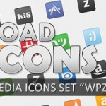 "Free Download 500 Vector Social Networking Icon Set ""WPZOOM"""