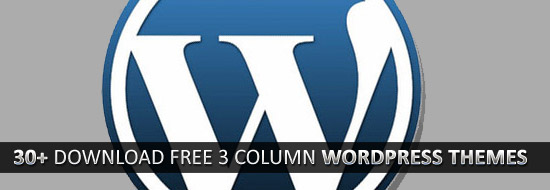 30+ WordPress Themes: Download Free 3 Column WordPress Themes