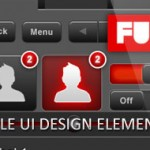 Download Free Mobile UI Design Elements Set : Mobility