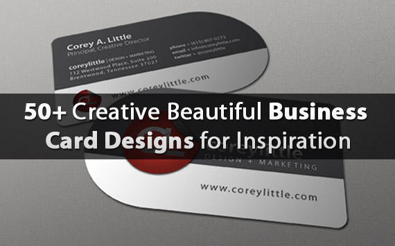 fresh business card designs for inspiration