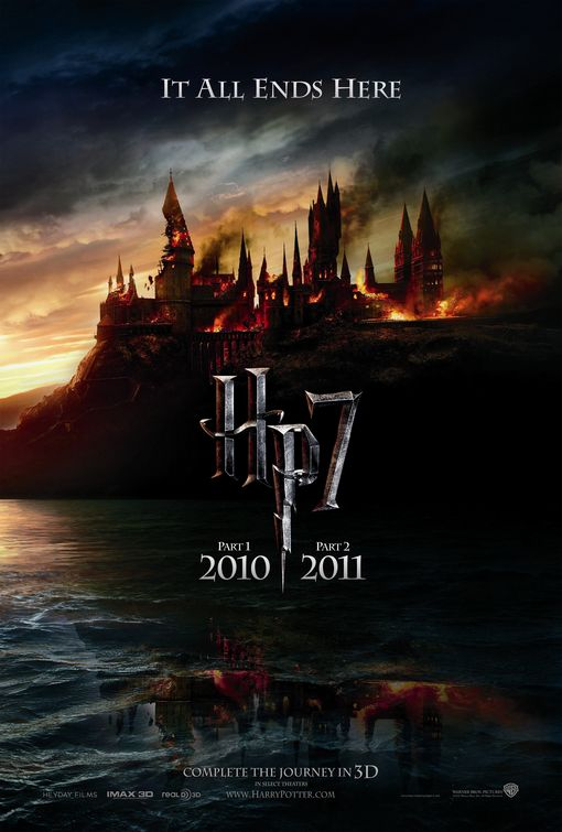 Harry Potter and the Deathly Hallows: Part I - 50+ Best Movie Posters of 2010 and 2011 - Movies Poster Showcase