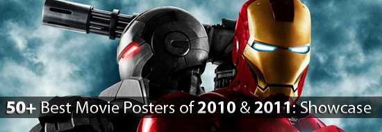 50+ Best Movie Posters of 2010 and 2011 – Movies Poster Showcase