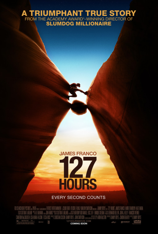 127 Hours - 50+ Best Movie Posters of 2010 and 2011 - Movies Poster Showcase
