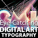 Post Thumbnail of Digital Art Typography: 50+ Eye-Catching Art Typography Designs