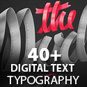 Post Thumbnail of Digital Text Typography: 40+ Beautiful Text Typography Designs