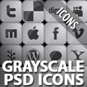 Post Thumbnail of Freebies: Download Grayscale PSD Social Icons Pack: LinkDeck