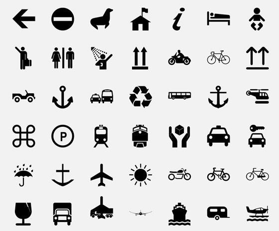 Mono Icon Set Pack Collection For Web Design Interface