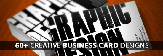 Post image of Creative Business Cards: 60+ Really Creative Business Card Designs