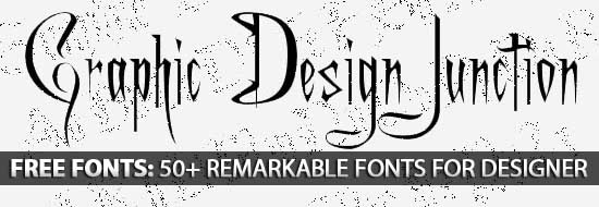 Free Fonts: 50+ Remarkable Fonts For Designer