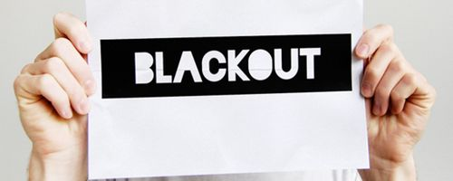 Blackout Free Font