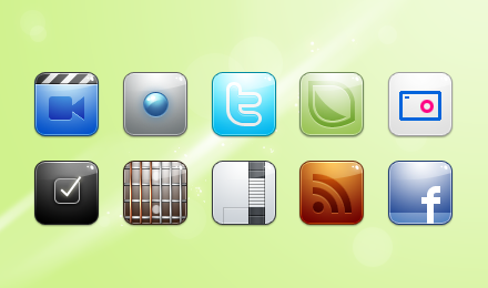 iPhone Icons: 40 Icon Sets For Your iPhone - Free Download