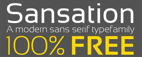 Sansation Free Font