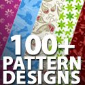 Post Thumbnail of Background Pattern Designs: 100+ Abstract Pattern and Texture Designs