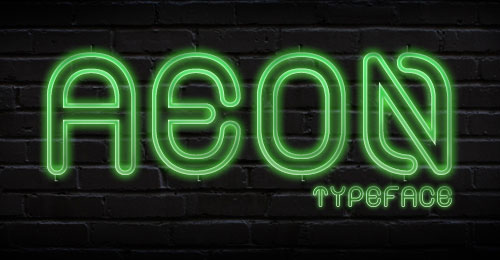 Alt Aeon Black &amp; Medium Free Font
