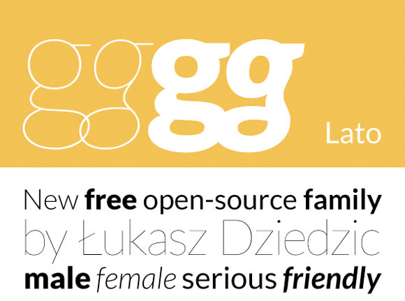 Lato Free Font
