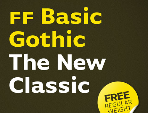 FF Basic Gothic Free Font