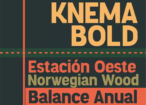 Knema Free Font