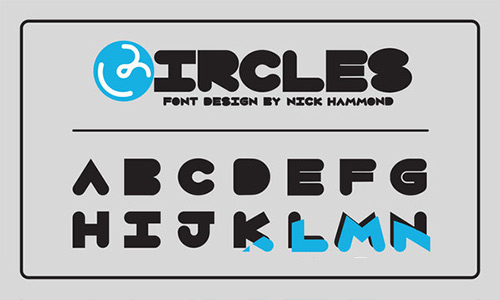 Circles Free Font