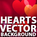 Post thumbnail of Free Hearts Vector Background