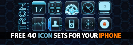iPhone Icons: 40 Icon Sets For Your iPhone – Free Download