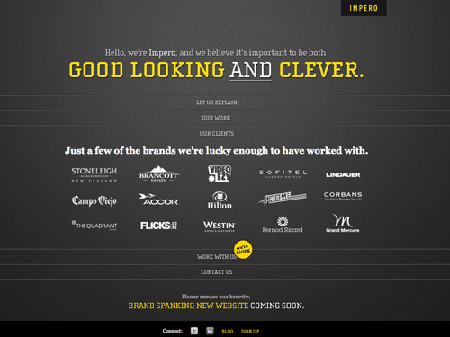 Single Page Website Designs: 70 Inspiring  Single Page Web Design