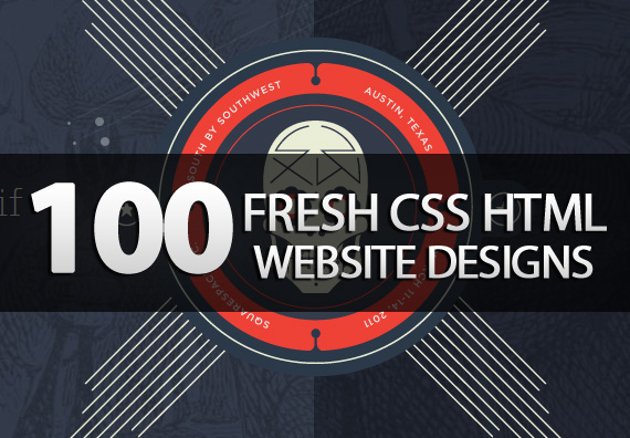 100 New CSS/XHTML Websites For Inspiration