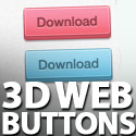 Post thumbnail of Freebie Chunky 3D Web Buttons (PSD)