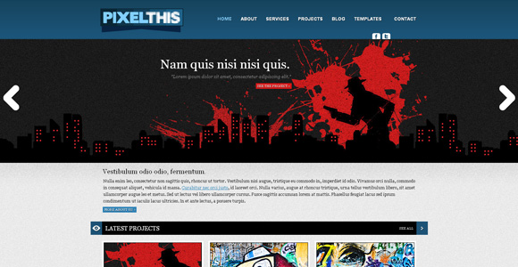 30 Free Premium CSS/XHTML Website Templates