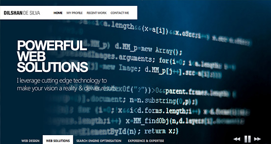 100 Fresh CSS HTML Websites For Inspiration