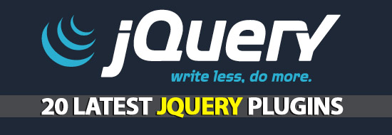 20 jQuery Plugins You Have To Know
