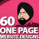 Post thumbnail of Single Page Websites: 60 Inspiring One Page Website Designs
