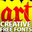 Post thumbnail of Free Fonts: 15 Highly Creative Fonts