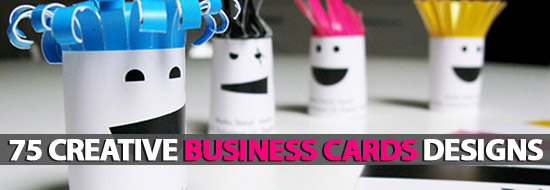 Post image of 75 Creative Business Cards Designs
