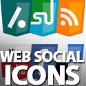 Post Thumbnail of Web Social Icons Set - HTML5 Logo Style