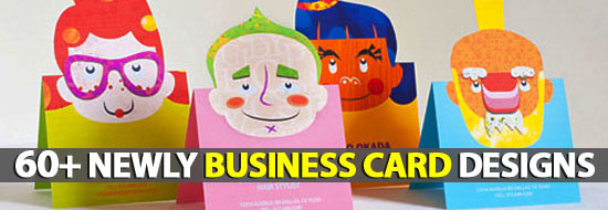 Business Cards: 60+ Newly Business Card Designs
