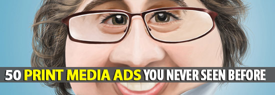 Post image of 50 Print Media Ads You Never Seen Before